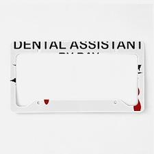Dental Asst Zombie License Plate Holder