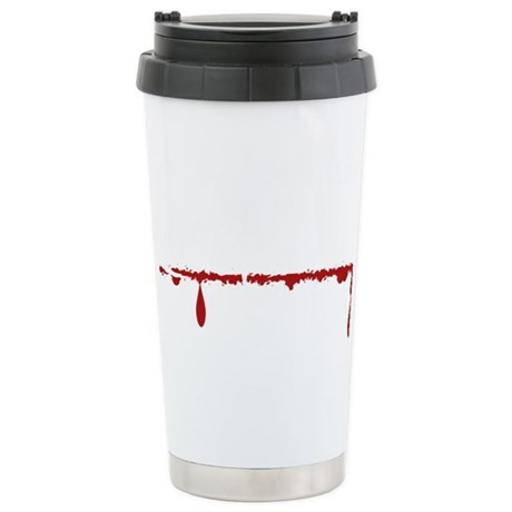 Dental Asst Zombie Stainless Steel Travel Mug
