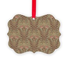 Haunted Foyer Mansion Wallpaper Ornament