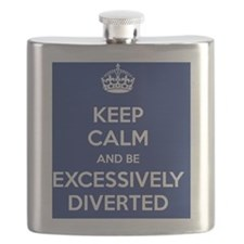 Keep Calm and Be Excessively Diverted Jane A Flask
