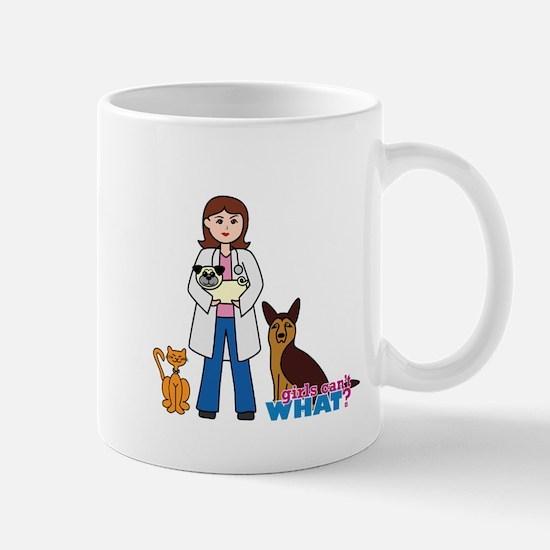 Woman Veterinarian Mug