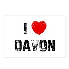 I * Davon Postcards (Package of 8)