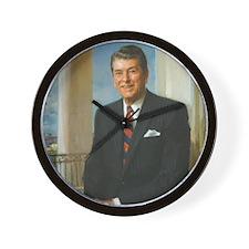 40 Reagan Wall Clock