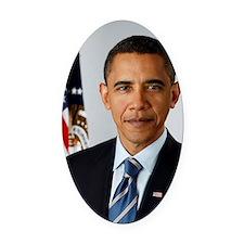 44 Obama Oval Car Magnet