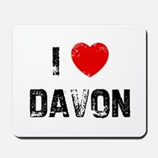 I * Davon Mousepad