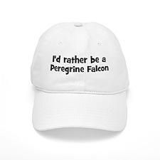 Rather be a Peregrine Falcon Baseball Cap