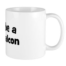 Rather be a Peregrine Falcon Small Mug