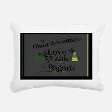 Ghost Adventures Gray Rectangular Canvas Pillow