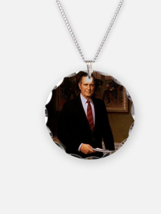 41 George H. W. Bush Necklace