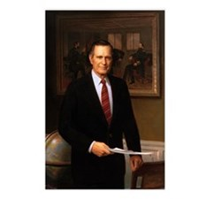 41 George H. W. Bush Postcards (Package of 8)