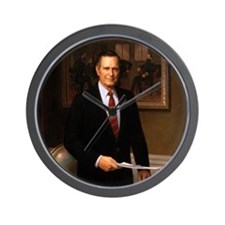 41 George H. W. Bush Wall Clock