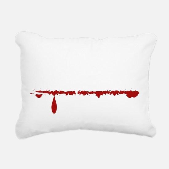 Dog Groomer Zombie Rectangular Canvas Pillow