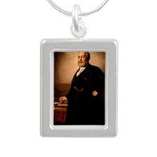 23 Harrison Silver Portrait Necklace
