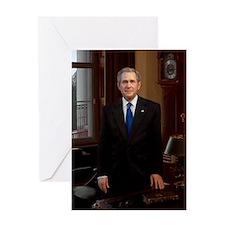43 George_W._Bush Greeting Card