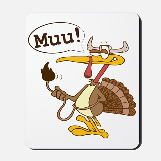 Smart turkey Mousepad