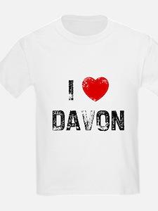 I * Davon Kids T-Shirt