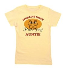 One Purrfect Auntie Girl's Tee