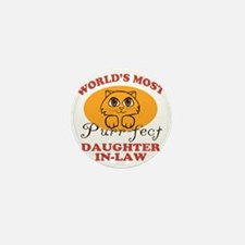 One Purrfect Daughter-In-Law Mini Button