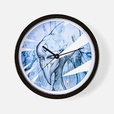 Alien Horus Ra 3 Wall Clock