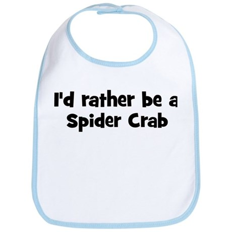 Rather be a Spider Crab Bib