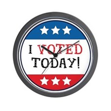 I Voted Today Wall Clock