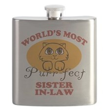One Purrfect Sister-In-Law Flask