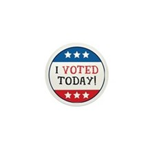 I Voted Today Mini Button