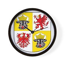 Mecklenburg-Western Pomera Wall Clock