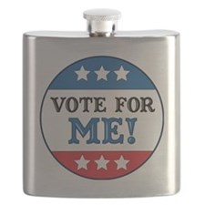 Vote For Me Flask