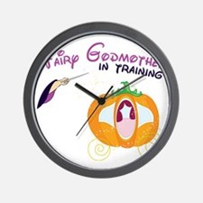 Fairy Godmother in Training Wall Clock