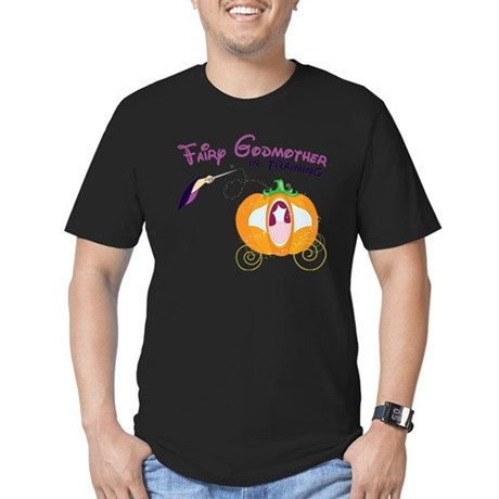 Fairy Godmother in Tra Men's Fitted T-Shirt (dark)