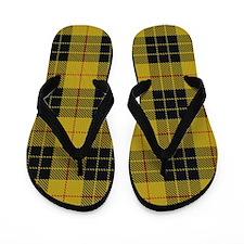 McCleod Tartan Plaid Flip Flops