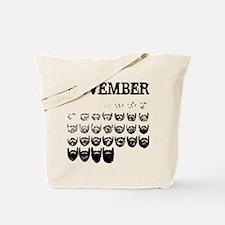 No shave november Tote Bag