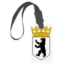 Berlin Coat of Arms Luggage Tag