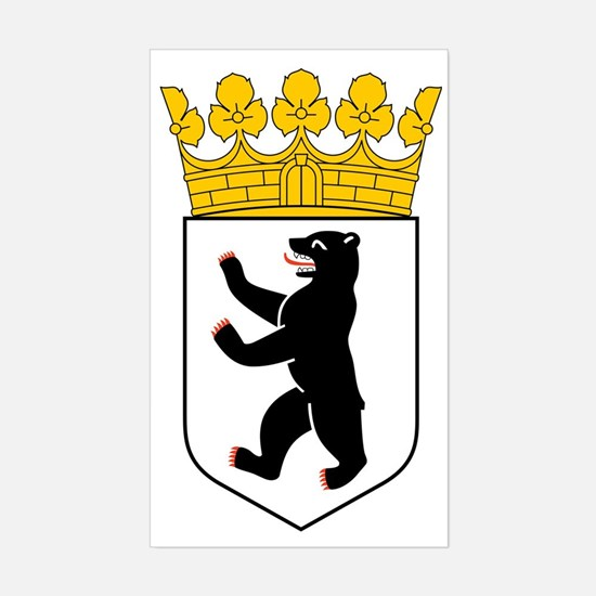 Berlin Coat of Arms Sticker (Rectangle)