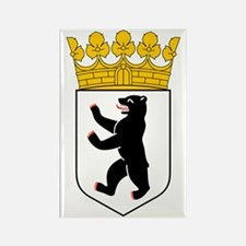 Berlin Coat of Arms Rectangle Magnet