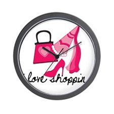 Divas Shopping Wall Clock