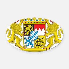 Bavaria Oval Car Magnet