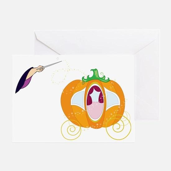 Princess Carriage Greeting Card