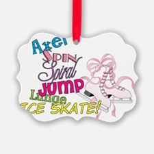 Ice Skating Ornament