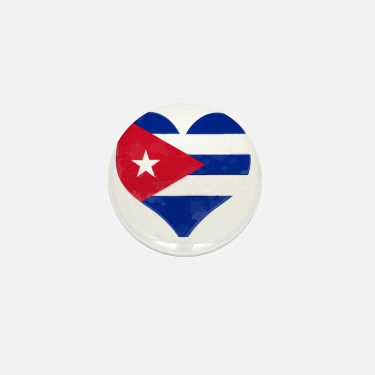 El Corazón de Cuba Mini Button