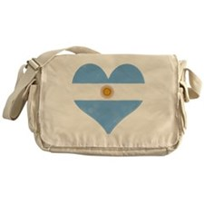 El Corazon de Argentina Messenger Bag