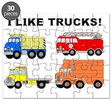 I LIKE TRUCKS Puzzle