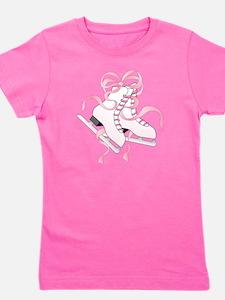 Pink Skates Girl's Tee
