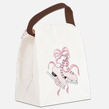 Pink Skates Canvas Lunch Bag