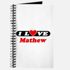 I Love Mathew Journal