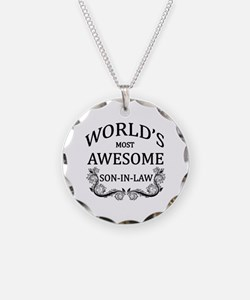 World's Most Awesome Son-In-Law Necklace