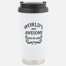 World's Most Awesome Son-In-Law Travel Mug