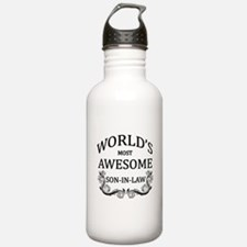World's Most Awesome Son-In-Law Water Bottle