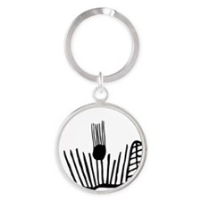 Exproodles - Smirking for Real Round Keychain
